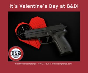 TAKE A SHOT AT LOVE ON VALENTINE'S DAY AT B&D